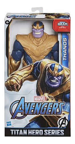 Boneco Thanos Avengers Blast Gear Deluxe Original Hasbro