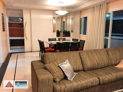 Imagem 1 de 30 de Apartamento Com 3 Dormitórios À Venda, 145 M² Por R$ 1.537.000,00 - Jardim Anália Franco - São Paulo/sp - Ap5528