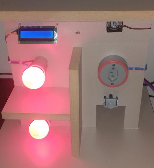 Tcc Arduino Pronto / Automação Residencial / Casa Inteligent