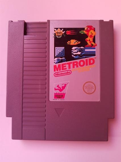 Metroid Nes Original Americano Cartucho Novinho! Jogaço!