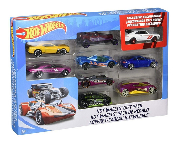 Set De Carros Hotwheels