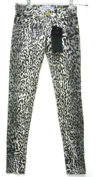Sarkany Pantalon Chupin T23 Animal Print Gabardina