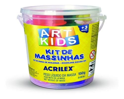 Kit Mini Balde De Masas Acrilex