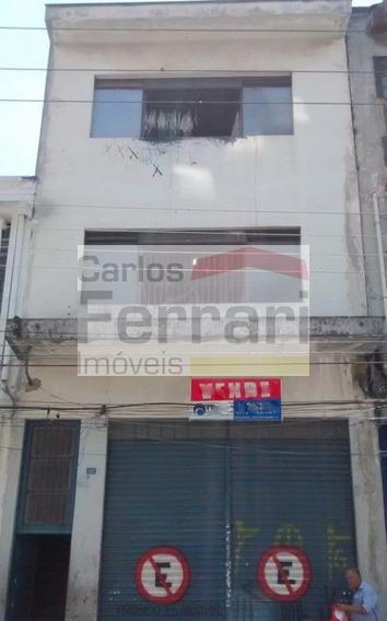 Prédio Comercial No Brás Com Renda 5.500,00 - Cf8627