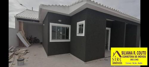 Imagem 1 de 10 de Itaipuaçu- Casa 2 Quartos, Churrasq- R$ 290 Mil - 448