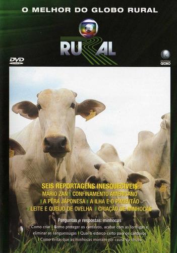 Dvd O Melhor Do Globo Rural 25 Anos - Mário Zan, Confinament