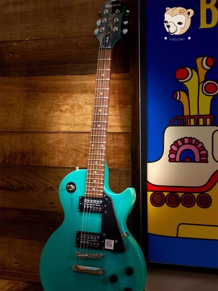 Guitarra EpiPhone Lespaul Studio Turquoise