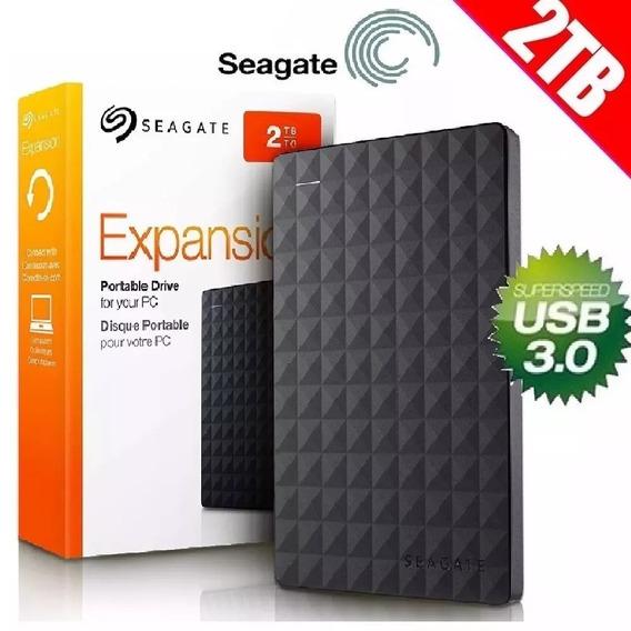 Hd Externo 2tb Seagate Usb 3.0 Portátil Pc Ps4 Xbox One