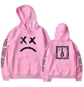 Blusa Moletom Lil Peep Corta Vento The Peep Show Emo Sad