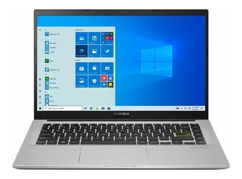 Imagen 1 de 4 de Notebook Asus I3 1005g1 4gb 128gb Ssd 14 Full Hd Windows 10