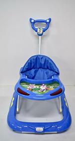Andador Infantil Bebê Bamboo Azul - Dispositivo Antiqueda