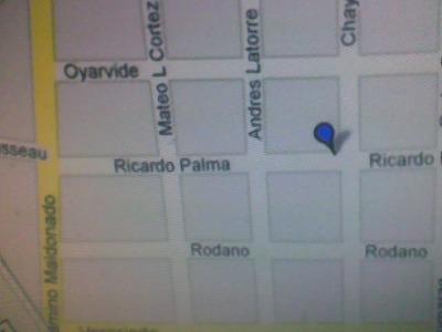 Dpto. En Flor Maroñas, Ricardo Palma 3254bis Esq. Chayos