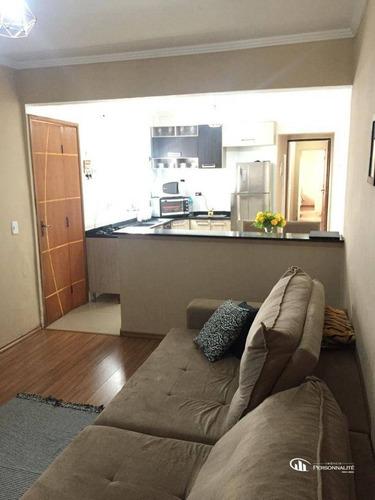 Imagem 1 de 17 de Casa Com 3 Dormitórios À Venda, 120 M² Por R$ 310.000,00 - Jardim Aclimação - Santo André/sp - Ca0223