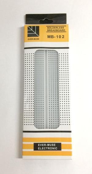 7x Protoboard Breadboard 830 Pontos Mb102 Protótipo