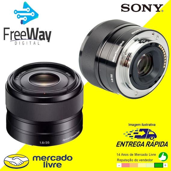 Lente Sony Sel35f18 E35mm F1.8 Oss / Sony 35mm F1.8 P/ Crop