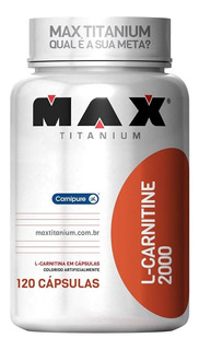 2x L- Carnitine 120 Cápsulas - Max Titanium