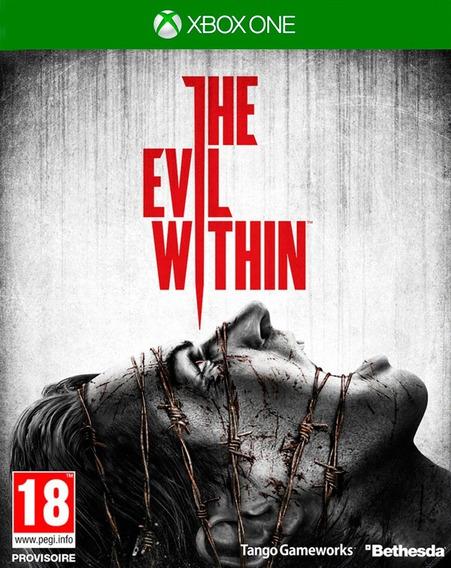 The Evil Within Para Xbox One Novo Lacrado Mídia Física