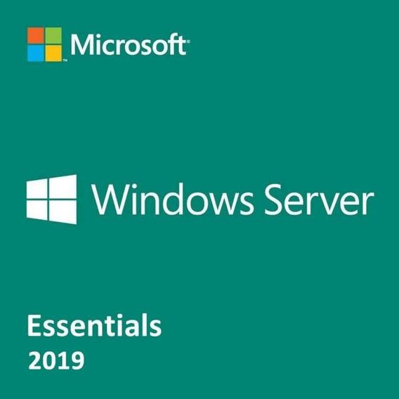 Licença Windows Server 2019 Essentials + 25 Cals - Nfe