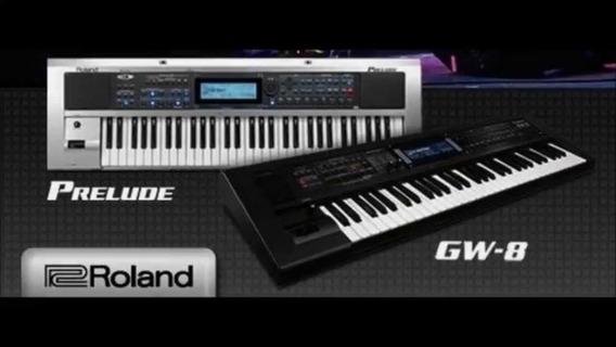 25 Ritmos, Roland Gw8 E Prelude Com Qualidade De Samples