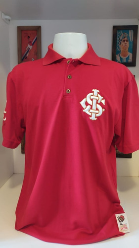 Camisa Internacional Centenario Licenciada Vermelha