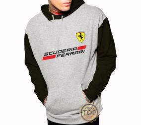 f579fe9d39 Blusa De Frio Moletom Moleton Ferrari Corrida
