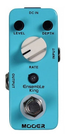 Pedal Mooer Ensemble King | Analog Chorus | Para Guitarra