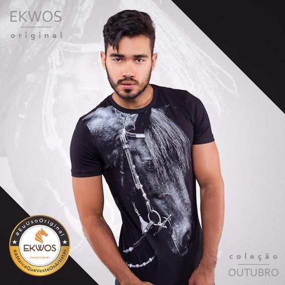 Camiseta Ekwos Arreios Tam P 100% Original