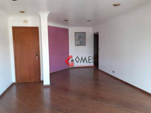 Apartamento Com 3 Dormitórios, 136 M² - Venda Por R$ 390.000,00 Ou Aluguel Por R$ 2.500,00/mês - Vila Euclides - São Bernardo Do Campo/sp - Ap3091