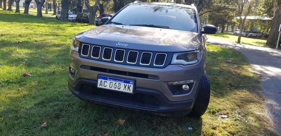 Jeep Compass Sport 2.4. T/m Caja De Sexta. Año: 2017