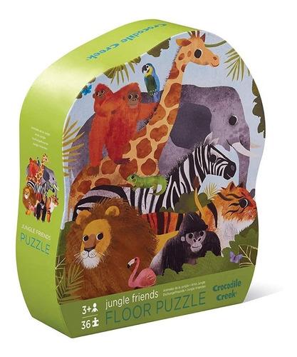 Puzzle Animales Jungla 36 Piezas Rompecabezas Educando