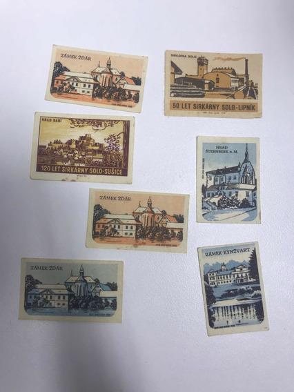 Minipostales Antiguas Checas