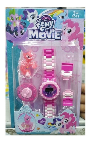 Relógio Infantil Pulseira Personagem My Little Pony Lego