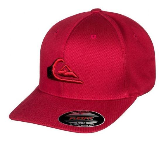 Quiksilver Gorra Hombre Cap Mountain And Wave Rojo