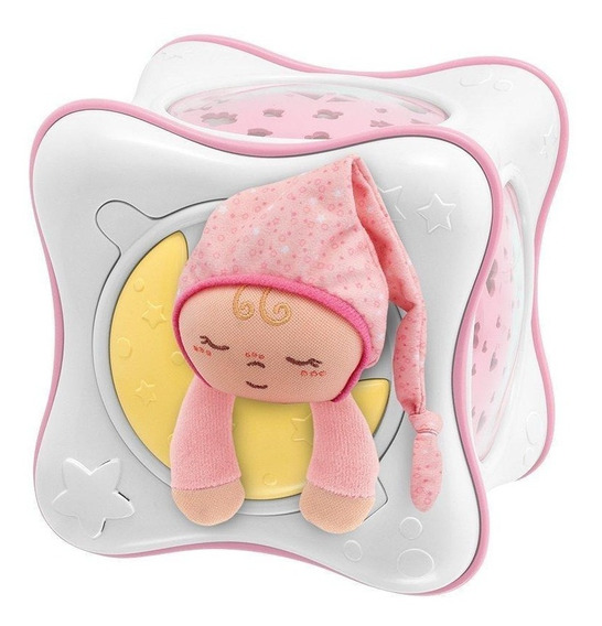 Chicco Proyector Rainbow Cube Rosa