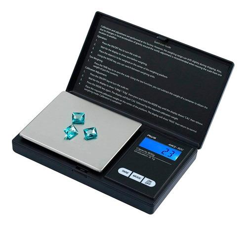 Balanza Mini Precision 0.1 A 500 Gr Joyeria Retroiluminada