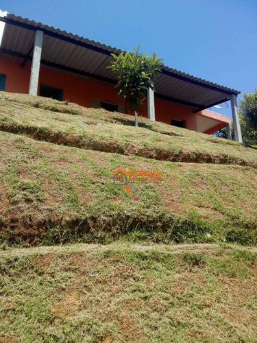 Chácara Com 2 Dormitórios À Venda, 850 M² Por R$ 250.000,00 - Parque Santa Tereza - Santa Isabel/sp - Ch0012