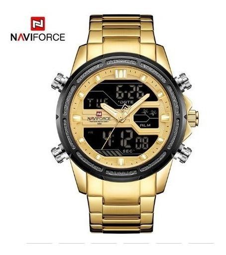 Relógio Naviforce 9138s Esportivo Original Novidade!!
