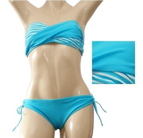 Mxbq10 Bikinis Strapless Trajes De Baño Sexi Femenino