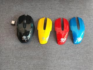 Mouse Inalámbrico Spectra Cambio De Carcasa 4 Colores