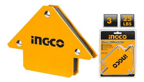 Escuadra Magnetica Ingco 3 25lbs Amwh25031 - Tyt