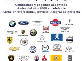 Venda Fácil Y Seguro! Compramos Contado Autos Usados!