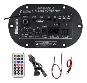 3und Amplificador 50w Mic Usb Bluetooth 110-220v 12-24v