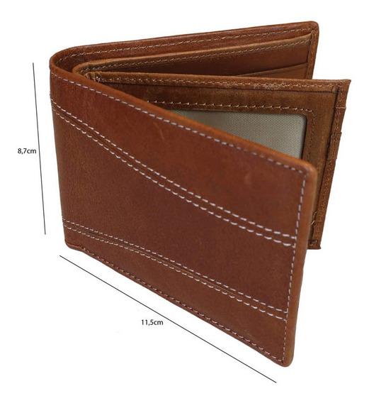 Billetera Hombre De Cuero Rosenthal Calidad Premium Amplia