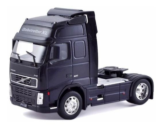 Miniatura Caminhão Volvo Fh Globetrotter Toco Escala 1:32