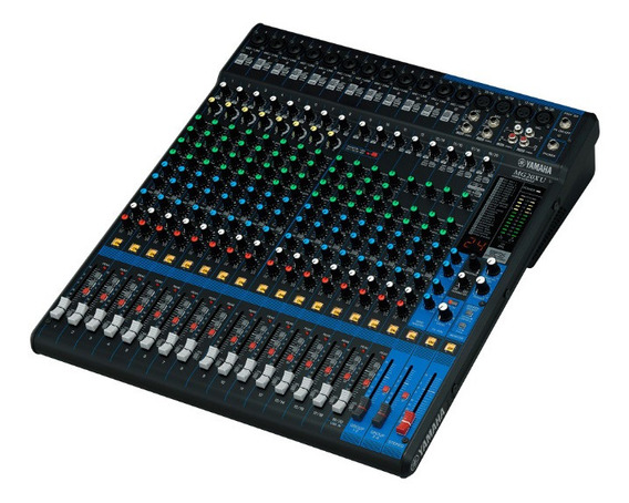 Mesa De Som Yamaha Mg20 Xu 20 Canais + Nf + 1 Ano Garantia