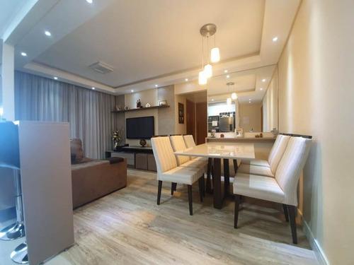 Apartamento De 2 Dormitórios No Palmeiras De São José - Ap2-1829