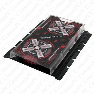 Evercool Hdcw Cool Rueda Disco Duro Cooler Ventilador Rojo D