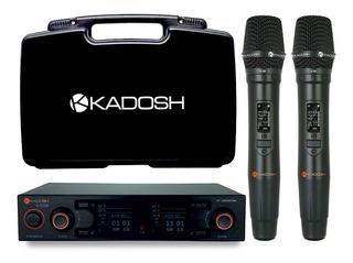 Microfone Sem Fio Duplo Kadosh K 502 M Original