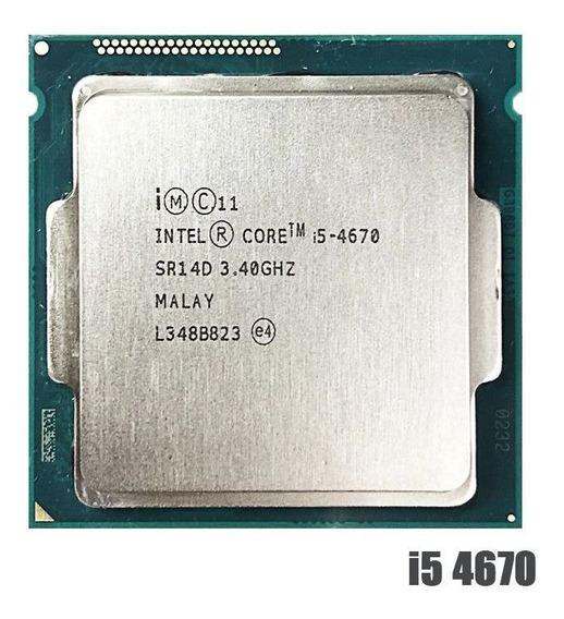 Processador Intel Core I5 4670 3.4 Ghz 6m Lga 1150 100%