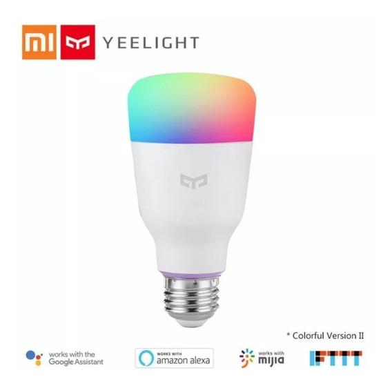 Lâmpada Xiaomi Yeelight E27 Wi-fi 2a Ger - Color Bivolt 10w